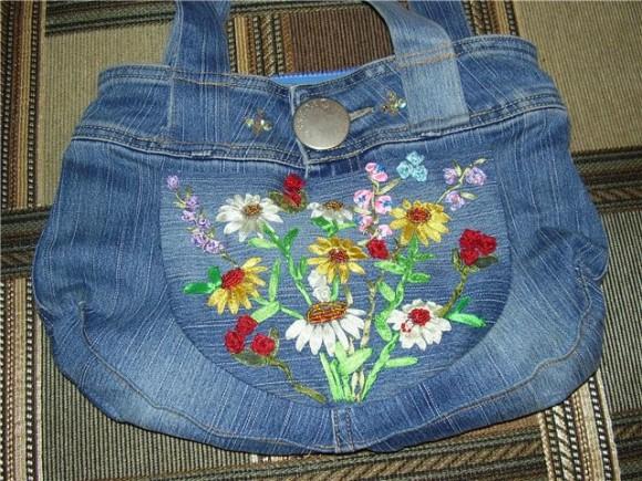 Как сшить из джинсы своими руками