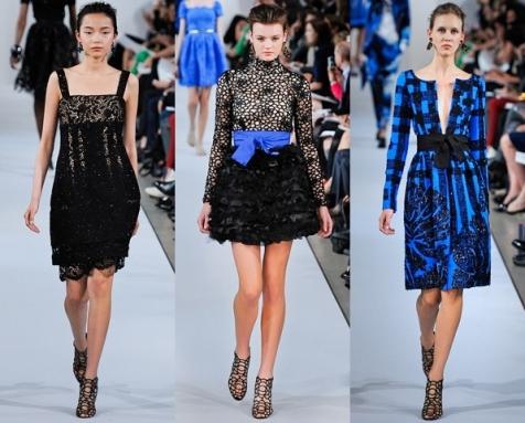 Модне коктейльные платья сезона 2012-2013