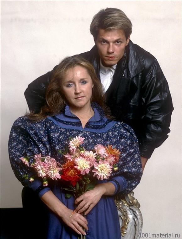 Игорь Скляр и его жена